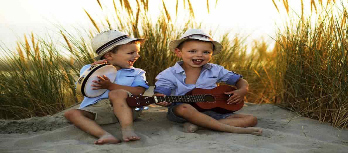 importancia de musica en niños